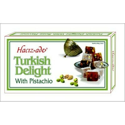 Hacizade DELIGHT PISTACHIO 454GR Turkish Delight with Pistachios
