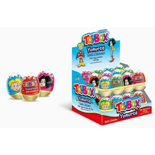 TOYBOX Egg with toys 20GR