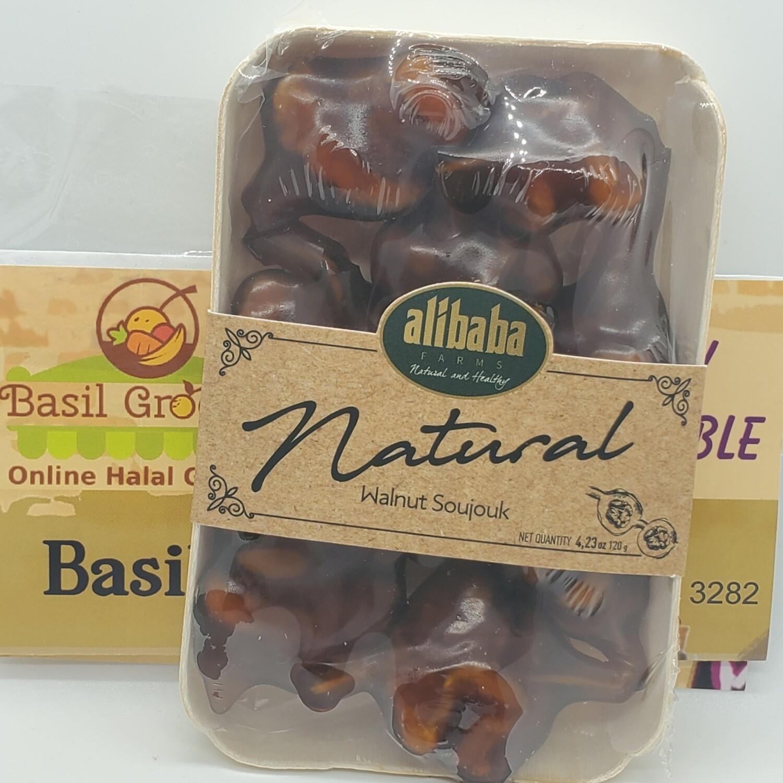 Natural Grape Molasses covered Walnut by AliBaba Farm 120gr
