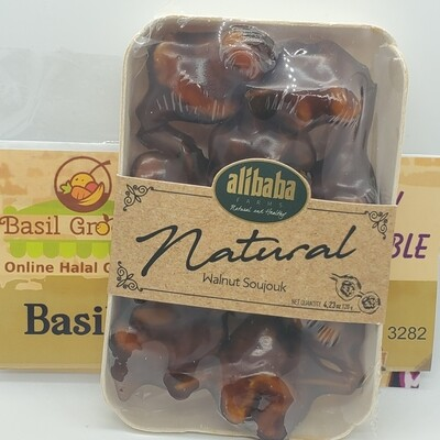 Natural Grape Molasses covered Walnut by AliBaba Farm 120gr