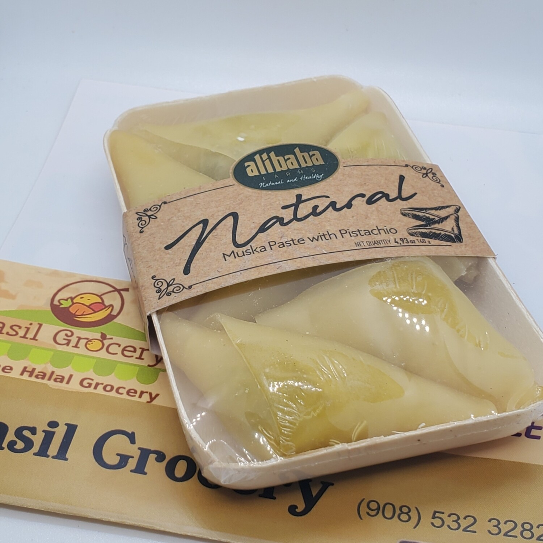 Natural grape molases paste with pistachios by AliBaba Farm 140gr 6 pcs