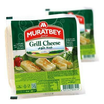 Muratbey Halloumi Grill Cheese 200gr 2 slices