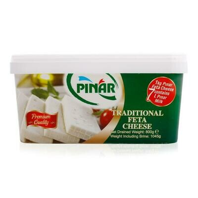 Pinar Full Fat white cheese cow feta 800g