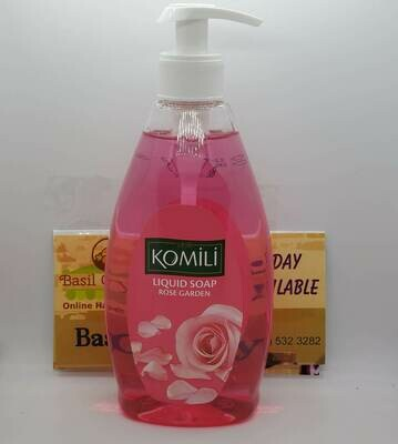 Komilli Liquid Soap - Rose Garden 13 fl/oz