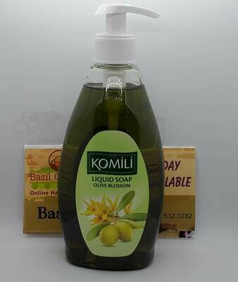 Komilli Liquid Soap -Olive Blossom 13 fl/oz
