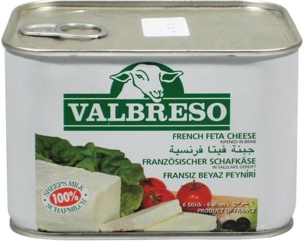 VALBRESO FRENCH FETA 600GR