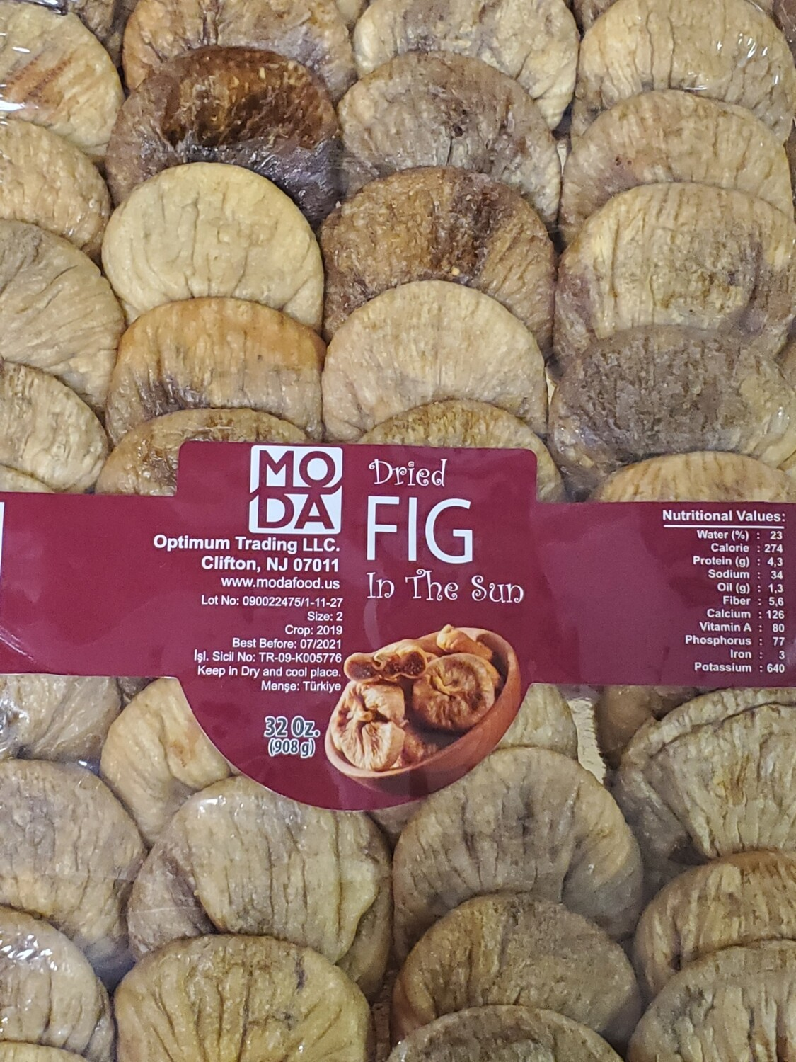 Dried Turkish Fig by Moda Food Aydın İnciri 2lb