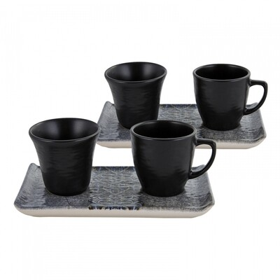 KARACA CUBA 2 Person  6 Pieces  Coffee Cup