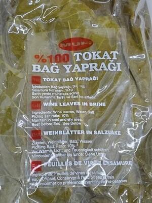 Tokat Salamura Grape Vine Leaves Product of Turkey 500gr by mufi