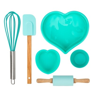 Karaca CRICK CRACK 11 Pieces  Silicon Cake Set KALP TIFFANY