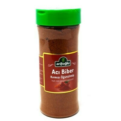 Arifoglu Aci BIBER PAPRICA ( HOT RED PEPPER FLAKES) PET JAR 175gr