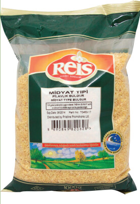 Reis Medium Coarse Bulgur 1kg (Midyat Bulguru)