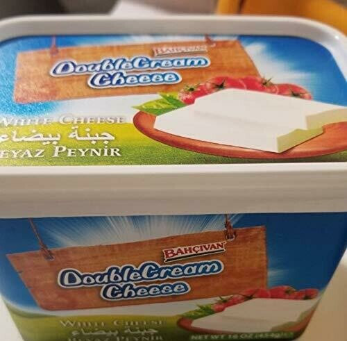 Bahcivan Creamy Feta double Cream Suzme Peynir 454gr