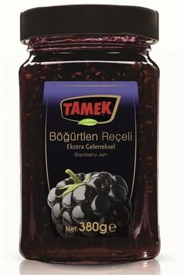 TAMEK BLACKBERRY JAM 380GR GLASS