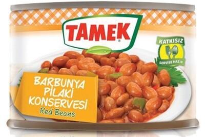 TAMEK PINTO BEANS 425GR CAN Kirmizi Barbunya Pilaki