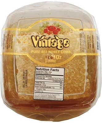 VINTAGE PURE BEE HONEY COMB 400GR