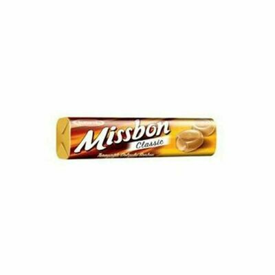 Missbon Filled Hard Candy with Caramel 43gr