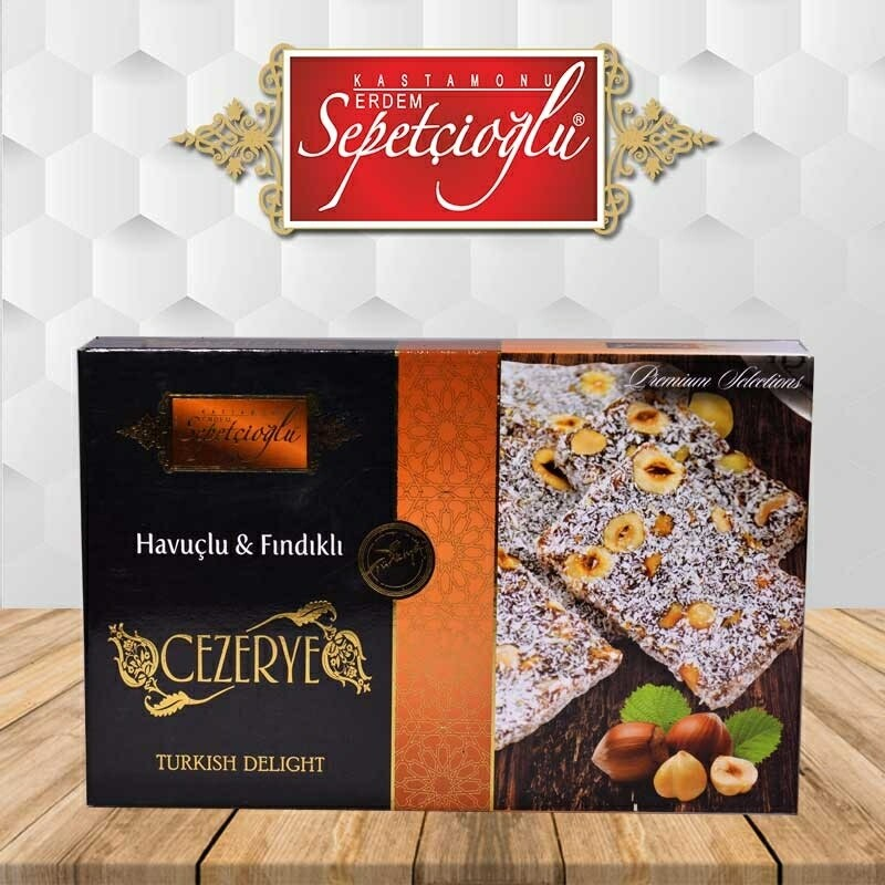 Sepetcioglu Turkish Cezerye with carrot paste and hazelnut 350gr