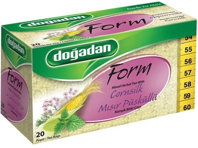 DOGADAN FORM TEA w CORN SILK 20TB