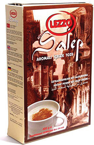 LEZZO SALEP FLAVORED INSTANT POWDERED DRINK 400gr Sahlep