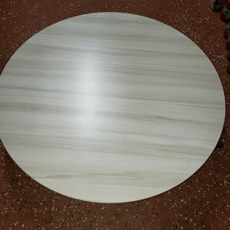 Yer Sofrasi - Sofra ROUND FLOOR TABLE WOOD 80 CM