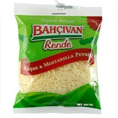 Bahcivan SHREDDED MOZZARELLA CHEESE 200GR