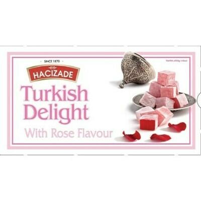 Hacizade Turkish Delight with Rose petals 16oz