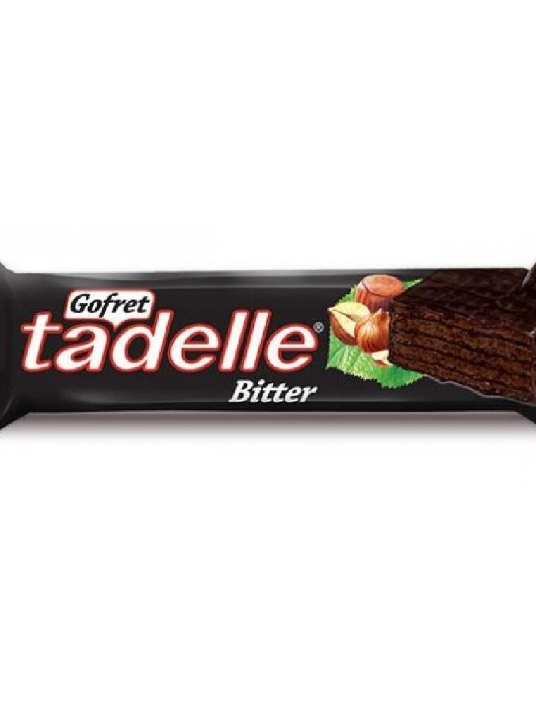 TADELLE CHOCOLATE WAFER BITTER 35GR