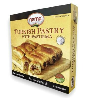 Nema Turkish Pastry with Pastirma