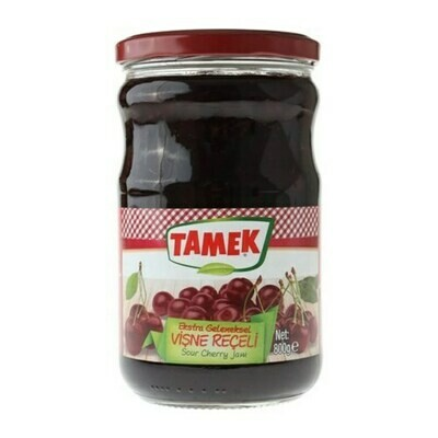 Tamek sour cherry jam preserve  vişne reçeli 800gr