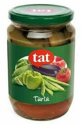 Tat Mixed Vegetables Turlu Konserve 720ml Glass
