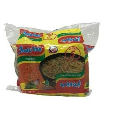 INDOMIE NOODLE SOUP CHICKEN (70GRX5) halal