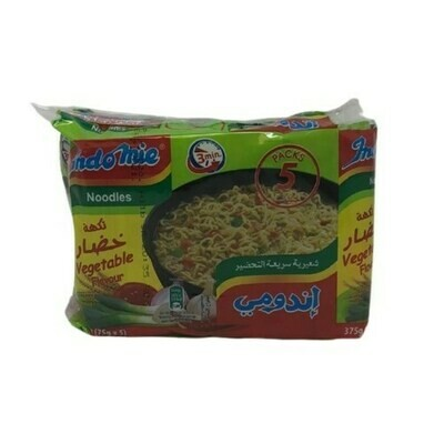 INDOMIE NOODLE SOUP VEGETABLE (75GRX5) halal