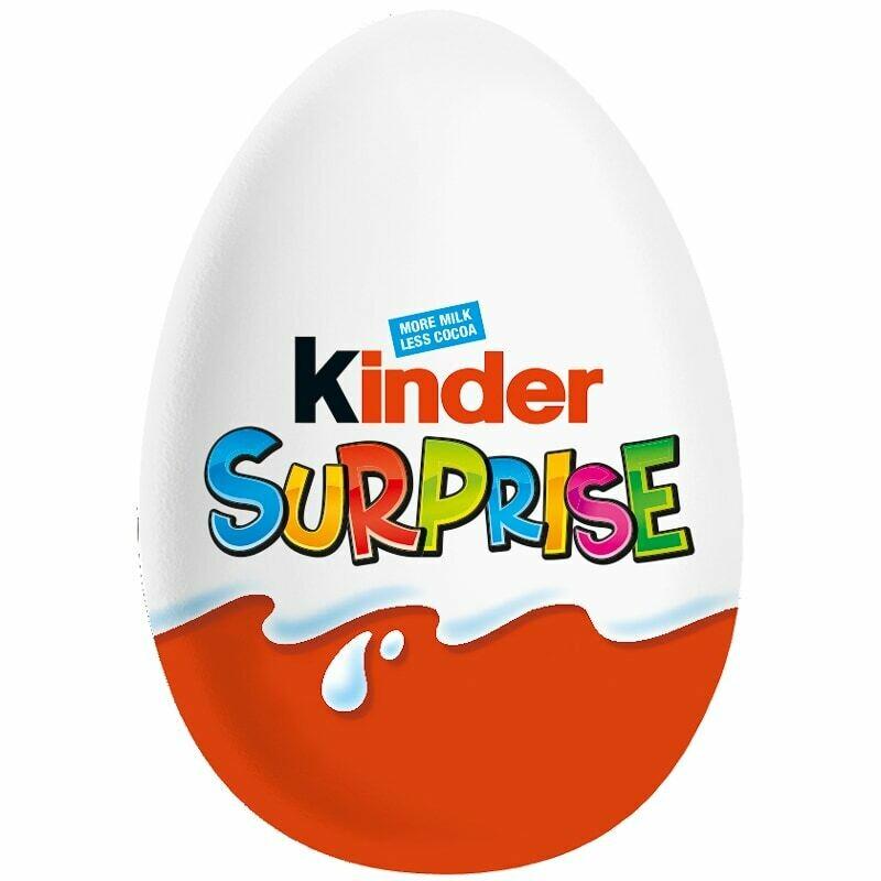 KINDER Suprise Egg  CHOCOLATE 20GR