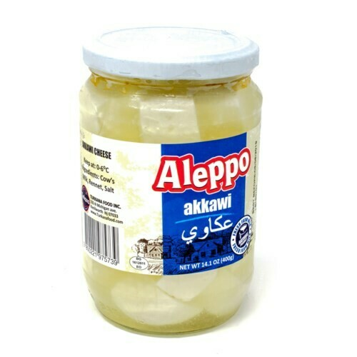 Aleppo AKKAWI CHEESE Kunafa Cheese JAR 400G