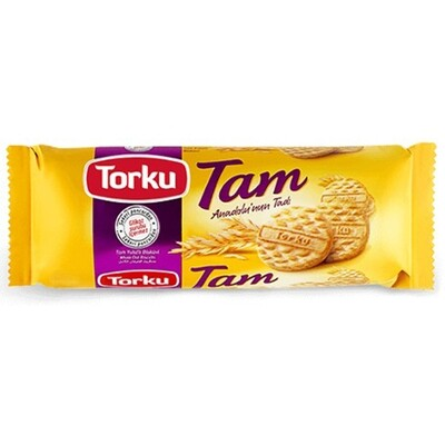Torlu Tam Whole Oat Biscuit 125gr