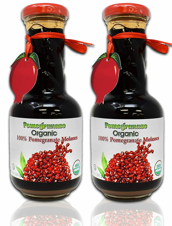 USDA ORGANIC Pomegranate Molasses 12.35 oz