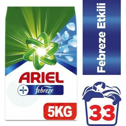 ArielMatik Febreze Etkisi 5kg detergent for machine washing 11lbs