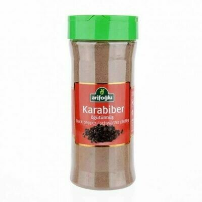 Arifoglu ground black pepper pet jar  200gr