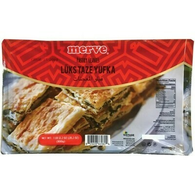 Merve Lux  Pastry Leaves Yufkas 800gr in box