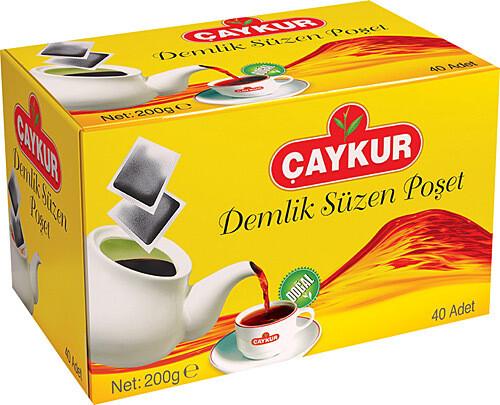 Caykur Altin suzme Demlik Poset - teapot bags 40 pcs