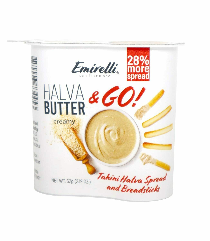 Emirelli, Tahini Halva Butter & Breadstick 62gr