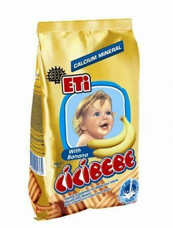 Eti CICIBEBE Bebe Baby Biscuits Banana 172gr