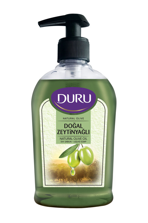 DURU LIQUID SOAP NATURAL OLIVE OIL 300 ML