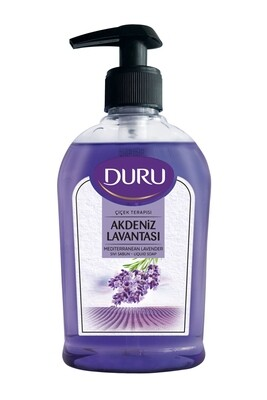 DURU LIQUID SOAP MADITERRANEAN LAVANDER 300 ML