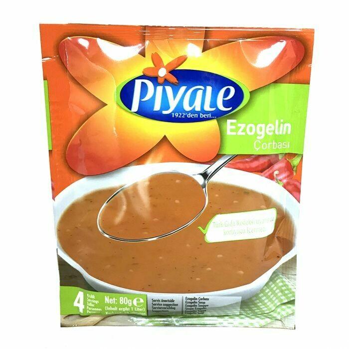 Piyale  Ezogelin soup 75gr Lentil and Tomato Soup