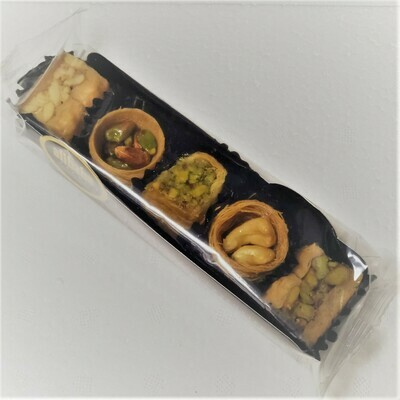 Natural Assorted baklava mix nut stuffed  by AliBaba Farm 50gr