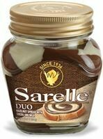 SARELLE DUO HAZELNUT SPREAD W COCOA AND MILK 350G