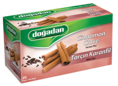 DOGADAN CINNAMON CLOVER TEA 20TB