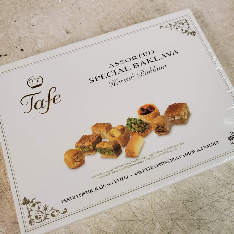 Tafe  Turkish Assorted Dried Baklava 400gr